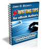 30 Tips For eBook Authors