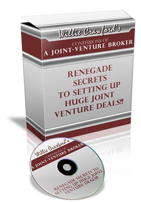 Product picture Confessions Of A Joint Venture Broker